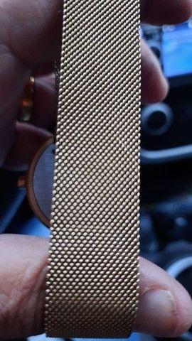 Relógio suiço banhado a ouro,VENDO OU TROCO - Foto 4