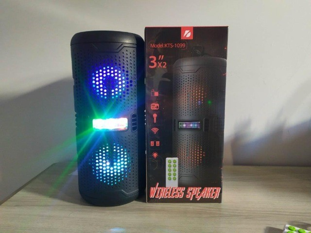 Caixa de som Bluetooth Big Sound KTS-1099 - Foto 5