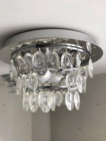Luminária pendente com duas lâmpadas