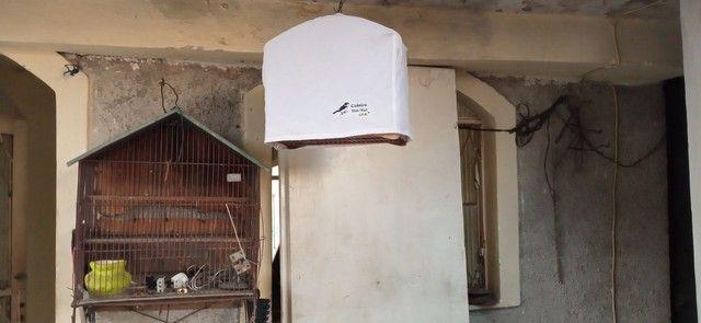 Gaiola de passarinho novinha com capa  - Foto 2