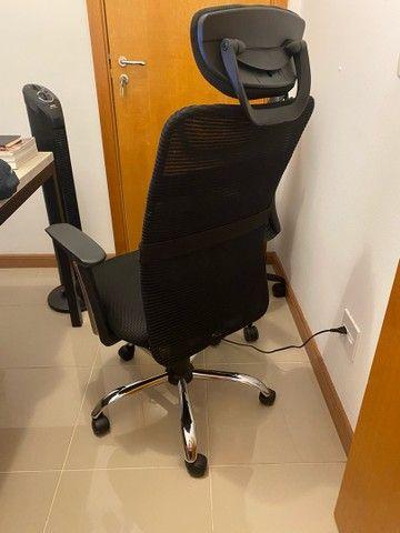 Cadeira Escritorio Estado de Nova - Foto 2