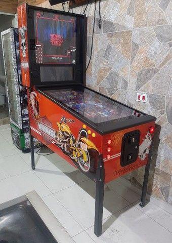 pinball Virtual em tamanho real de uma máquina mecânica mesas taito,Stern,bally,Sega - Foto 4
