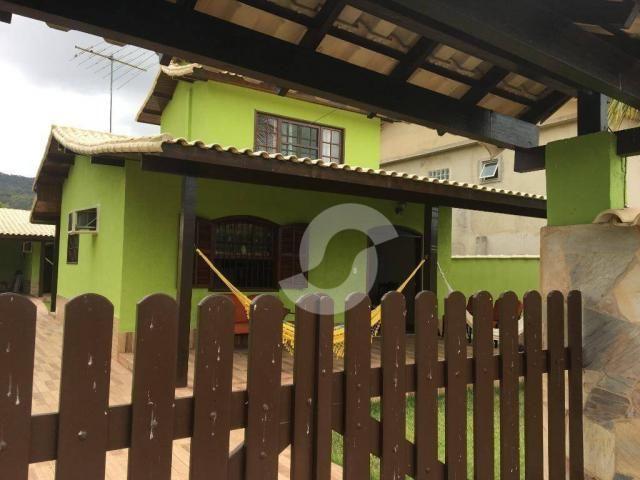 Casa com 3 dormitórios à venda por R$ 400.000,00 - Jacaroá - Maricá/RJ - Foto 2