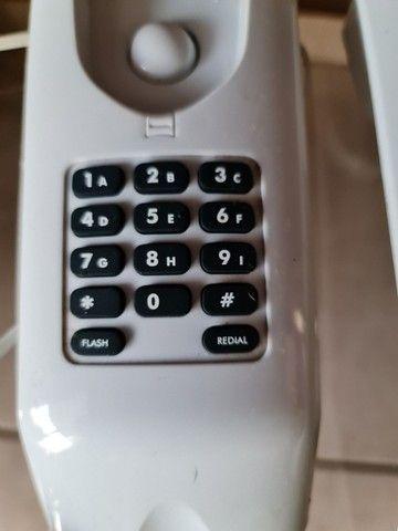TELEFONE COM FIO TECLADO ESCONDIDO INTELBRAS  - Foto 2