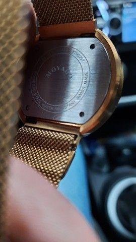 Relógio suiço banhado a ouro,VENDO OU TROCO - Foto 2