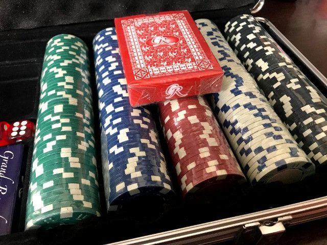 Maleta Poker 500 Fichas | Baralho - Jogo - Sorocaba