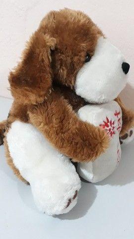 Cachorro de pelúcia da coleção Mamíferos da Parmalat antigo - Foto 4