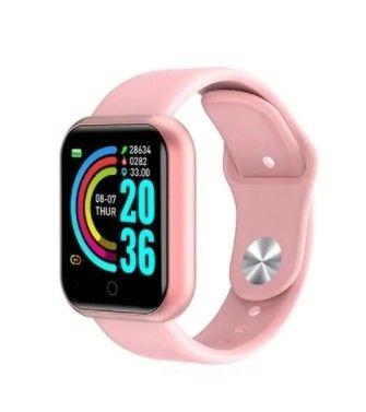 D20 Rosa Relógio Smart Funções Celular Esportivas - Foto 4