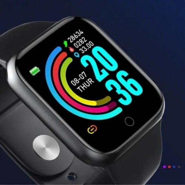Relógio smart marca D20, Y68, V6 - Foto 5