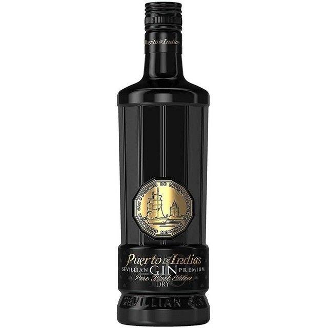 Gin Puerto de Indias Pure Black Edition 70 cl