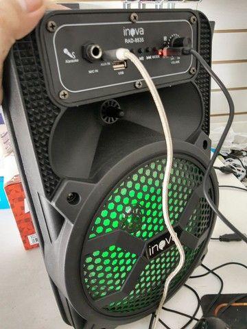 Caixa de som Amplificada Bluetooth. Ótima para passeios. - Foto 2