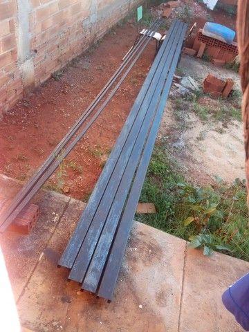 Vendo 4 barra ferro   chapa 14   75x40 - Foto 2