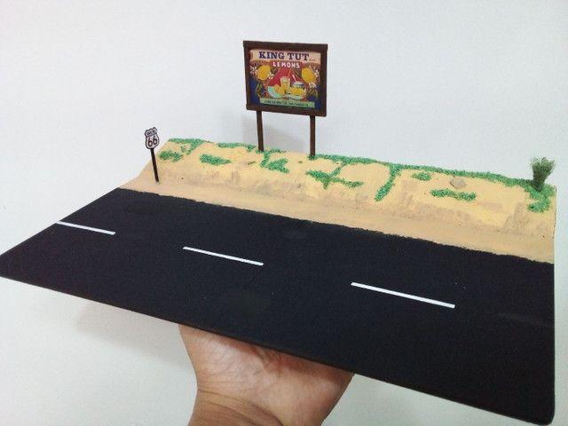Diorama escala 1.64 estrada! - Foto 4