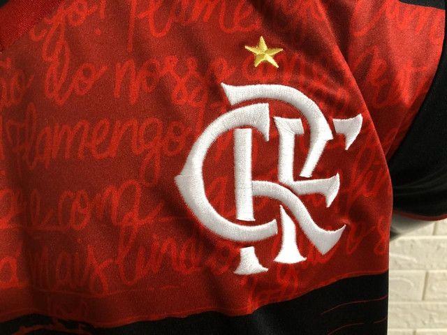Flamengo Camisa Oficial - Foto 3