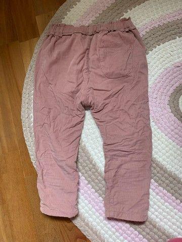 Calça Zara , tamanho 4anos , forrada por dentro quentinha  - Foto 2