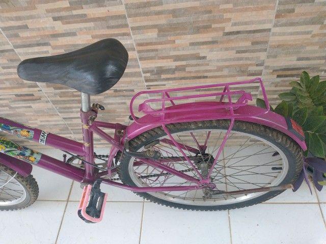 Bicicleta feminina aro 24 - Foto 5