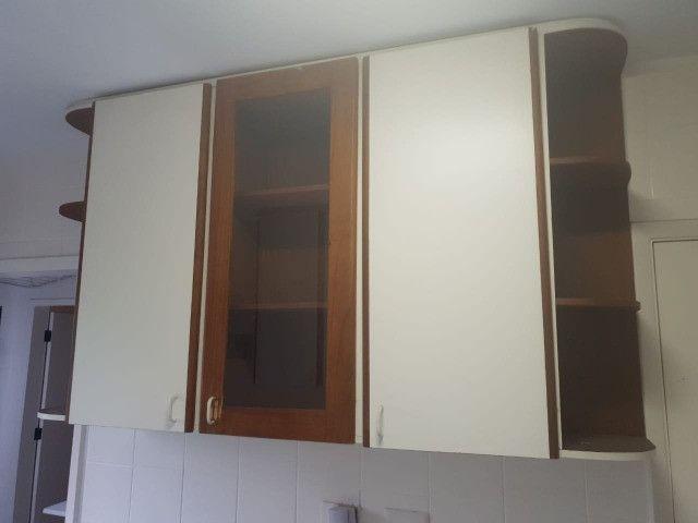 Armario cozinha porta vidro