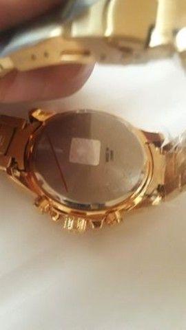 Relógio de luxo wwoor cronógrafo modelo 2021 - Foto 5