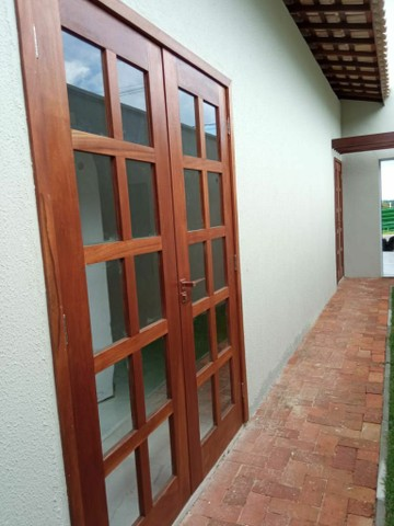 Porta pivotante pino madeira  - Foto 2
