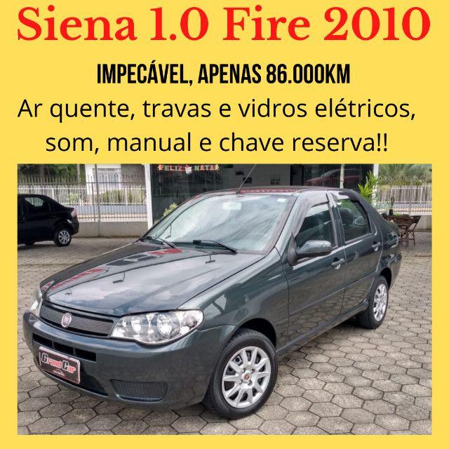 Lindo Siena Fire Flex 2010/ Muito Conservado/ Baixa Quilometragem
