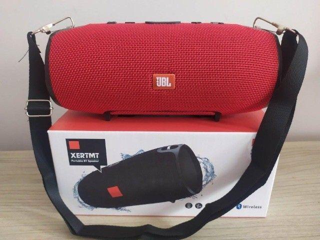 Caixa Som Bluetooth Xtreme Vermelha (22cm) - Foto 4