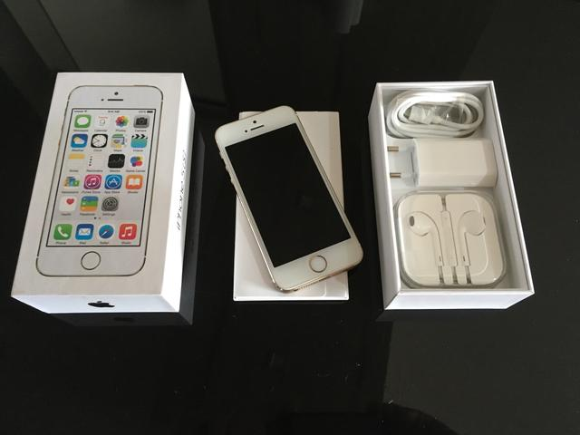 IPhone 5S 16Gb dourado - excelente estado