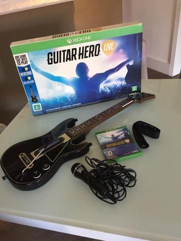 Guitar Hero Live - Xbox One na caixa - Jogo + Guitarra e microfone de brinde