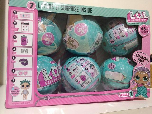 Boneca tipo LOL surprise