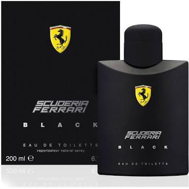 Perfume Ferrari Black 200 ml Original Importado