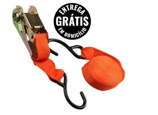 Cinta Catraca Monaliza 25mmx 4,50m - entrega grátis