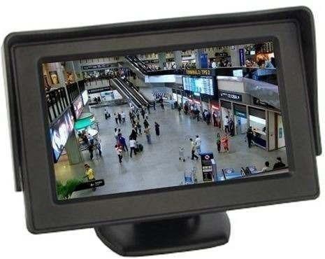 Tela Monitor 4.3 Lcd Veicula Câmera Ré Dvd Cftv Tft