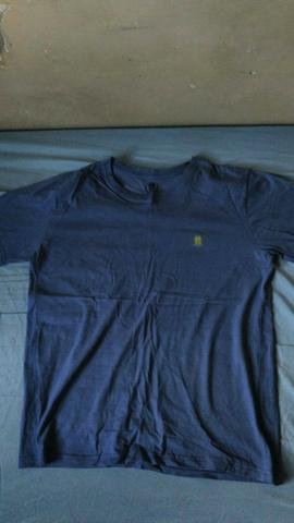 Camiseta Polo Wear azul, tamanho M
