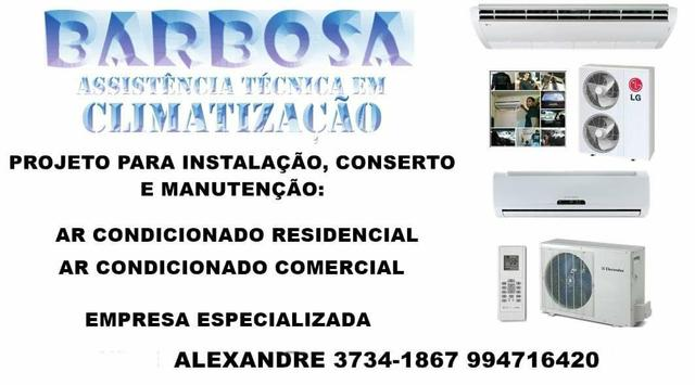 Conserto, Manutenção e Instalação de Ar condicionado