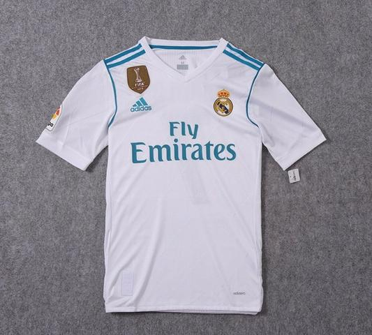 Camisa Real Madrid 17/18 - Jogador