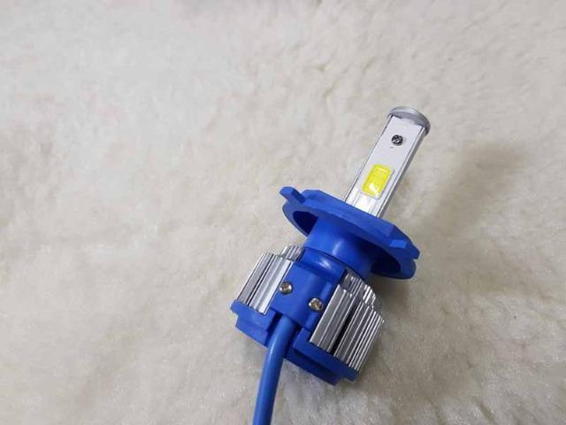 Lampada LED Farol H4 4100LM de potencia 36W com Cooler (Uma Unidade/Moto) - Foto 13
