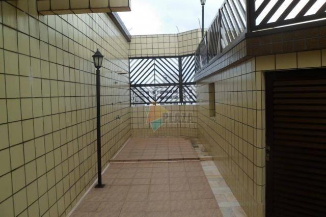 Cobertura com 5 dormitórios para alugar, 600 m² por r$ 4.000,00/mês - tupi - praia grande/ - Foto 8