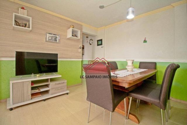 Apartamento com 3 dormitórios à venda, 69 m² por r$ 270.000,00 - santa quitéria - curitiba - Foto 5