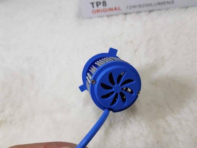 Lampada LED Farol H4 4100LM de potencia 36W com Cooler (Uma Unidade/Moto) - Foto 15