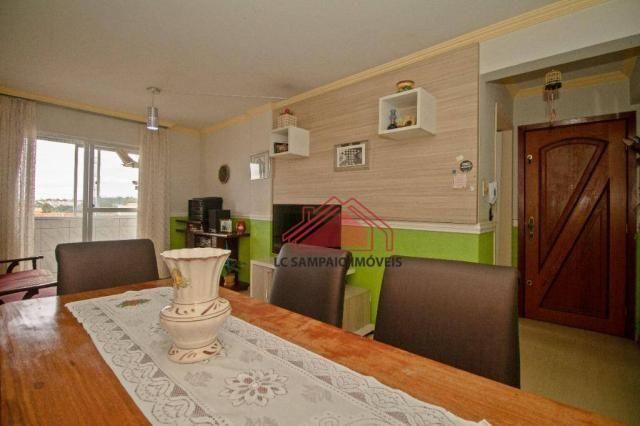 Apartamento com 3 dormitórios à venda, 69 m² por r$ 270.000,00 - santa quitéria - curitiba - Foto 6