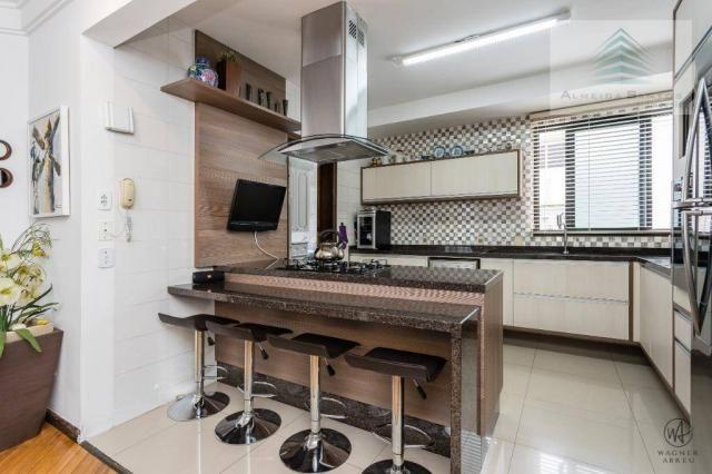 Apartamento com 3 dormitórios à venda, 129 m² por r$ 800.000 - batel - curitiba/pr