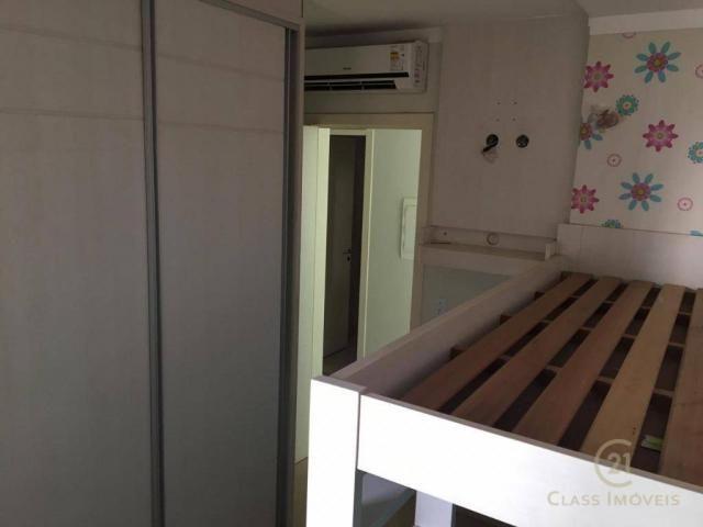 Apartamento com 3 dormitórios à venda, 83 m² por r$ 398.000,00 - gleba palhano - londrina/ - Foto 13