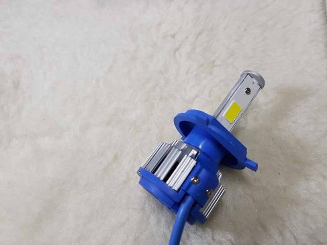 Lampada LED Farol H4 4100LM de potencia 36W com Cooler (Uma Unidade/Moto) - Foto 14