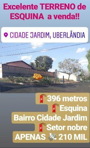 Terreno Esquina a venda 396 metros
