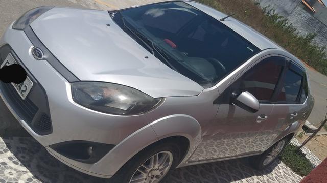Fiesta sedan, completo sem detalhes pra fazer é pegar e rodar - Foto 9