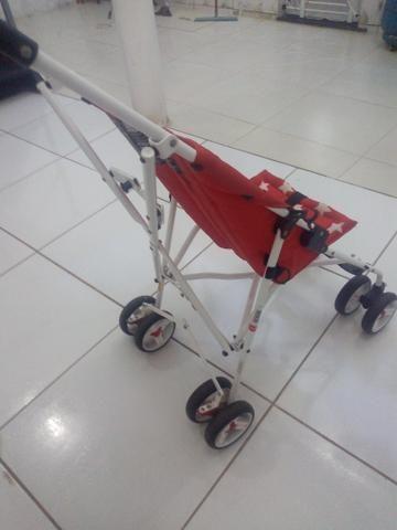 Vendo carrinho de bebê - Foto 2