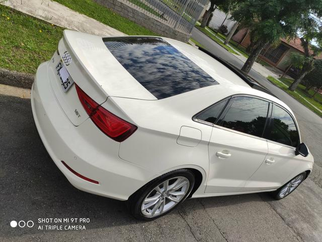 "Audi A3 Sedan 2015 1.8 Ambition 1.8 TFSI 180cv Teto solar ""raridade"" - Foto 4"