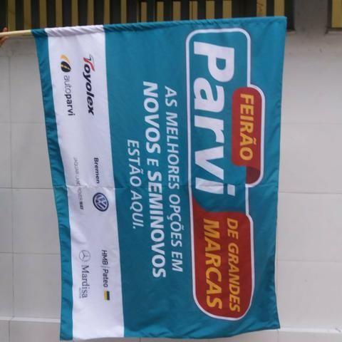 Bandeiras personalizadas para seu evento, curso, empresa etc - Foto 3
