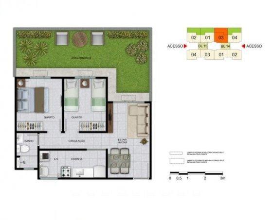 Apartamento a venda em campo  grande rj - Foto 19