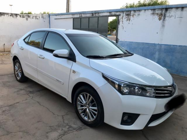 Corolla XEI 2015 branco perolizado. Carro extra com 65 mil km! - Foto 9