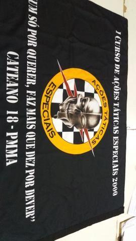 Bandeiras personalizadas para seu evento, curso, empresa etc - Foto 4